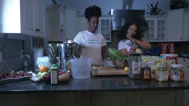 NEWARKIFF HEALTH & WELLNESS Juicing with Sprout Hub