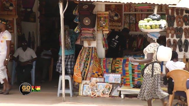 Go Ghana!  The Art Market