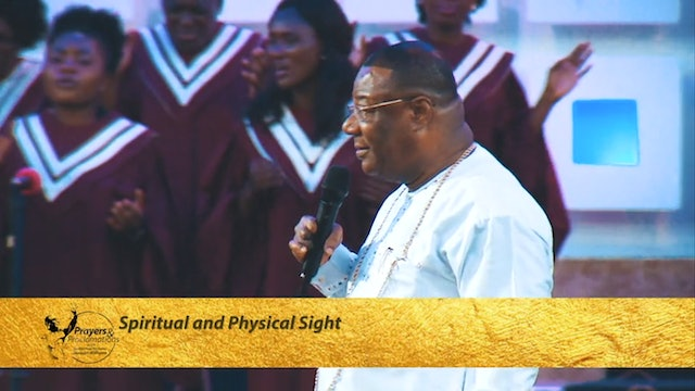 Spiritual and Physical Sight | Prayers & Proclamations