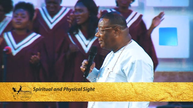 Spiritual and Physical Sight | Prayer...