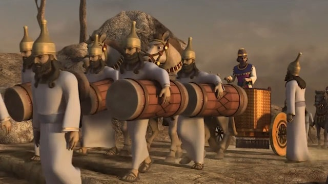 Elijah and The Prophets of Baal | Superbook
