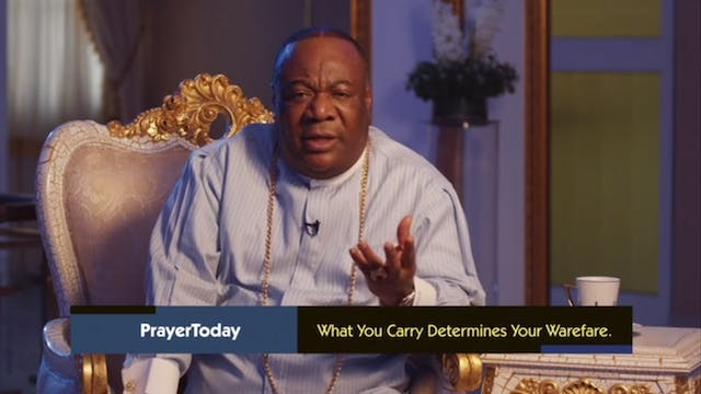 What You Carry - Part 2 | Prayer Toda...