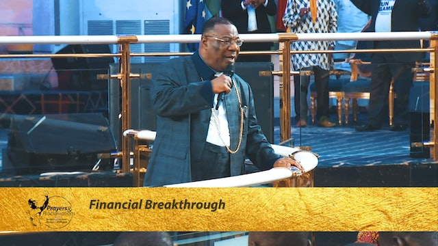 Prayers for Financial Breakthrough | Prayers & Proclamations
