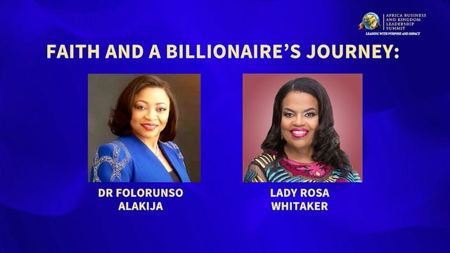 Faith and a Billionaire's Journey wit...