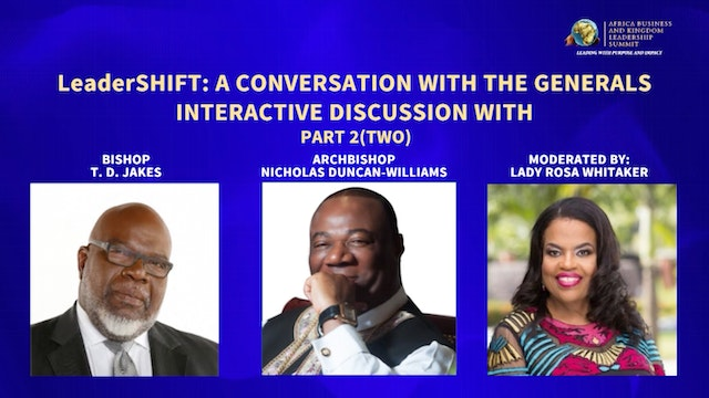 Day 1 AM Panel-A Conversation with th...