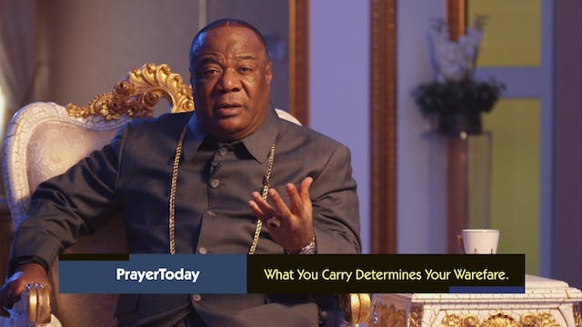 What You Carry - Part 3 | Prayer Toda...