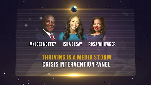 Thriving in a Media Storm: Crisis Communication and intervention Panel