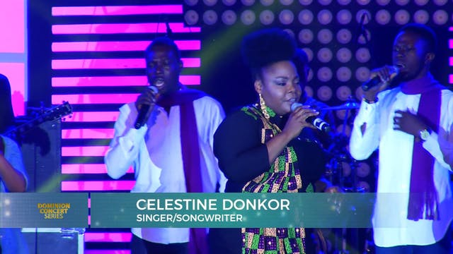 A Live Performance from Celestine Donkor