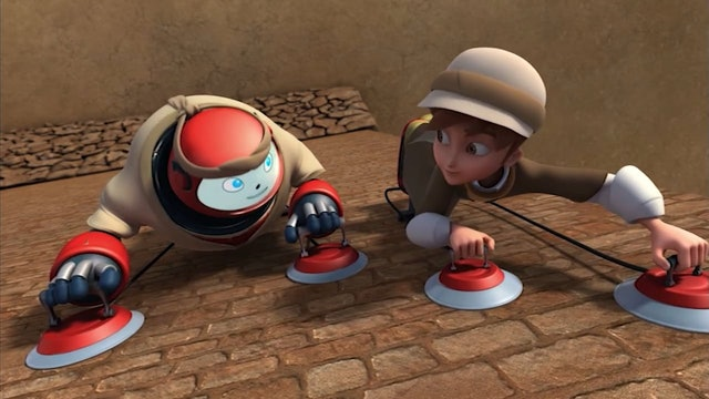 Rahab and Walls of Jericho | Superbook