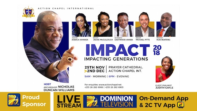 IMPACT 2018 -12/2- 10 AM SERVICE- REV. EASTWOOD ANABA