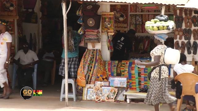 The Art Market   Go Ghana!