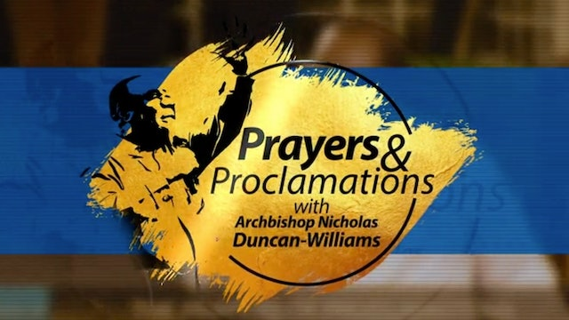 PRAYER FOR DIVINE VINDICATION