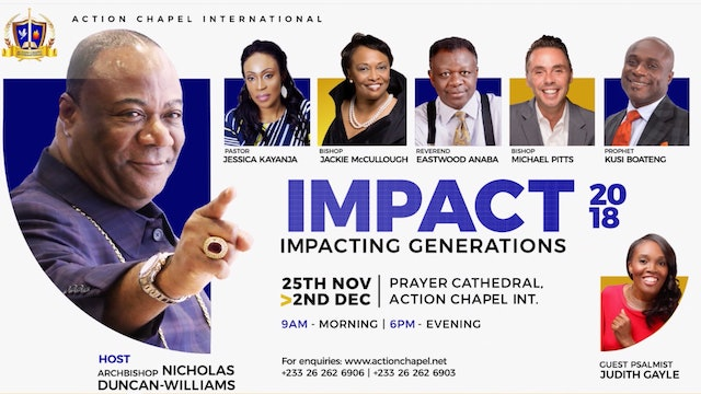 IMPACT 2018- Minister Judith Gayle DAY 1, Evening Service