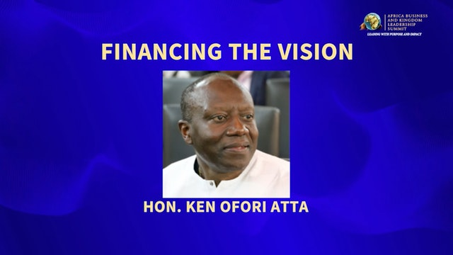 (2017) Day 2 Keynote Address-  Hon. Ken Ofori Atta