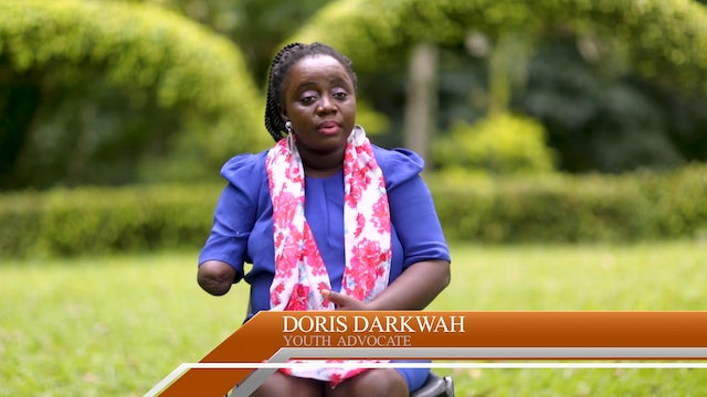 She Lost Her Arm But Not Her Faith In God - Doris Darkwah