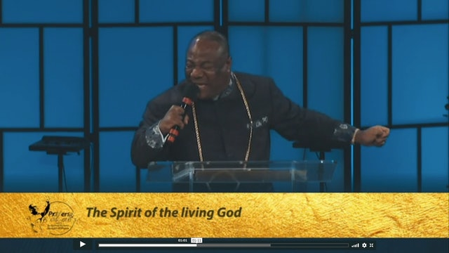 The Spirit of the Living God | Prayers & Proclamations