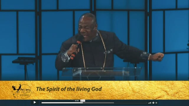 The Spirit of the Living God | Prayer...
