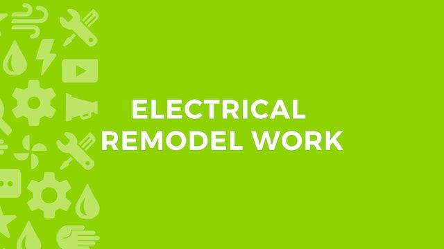Electrical Remodel Work