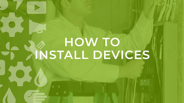 How to Install Devices