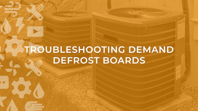 Troubleshooting Demand Defrost Boards