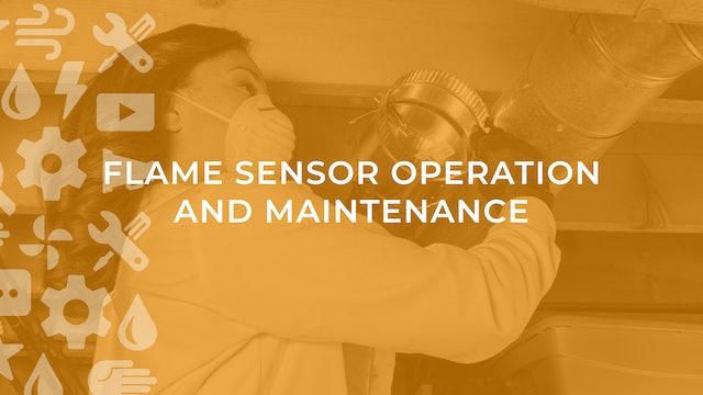 Flame Sensor Operation and Maintenance