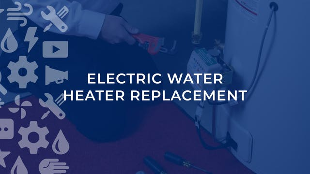 Electric Water Heater Replacement