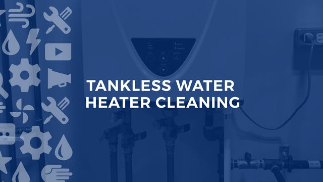 Tankless Water Heater Cleaning