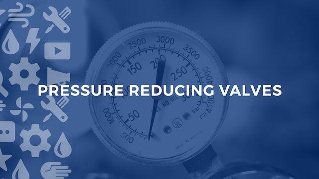 Pressure Reducing Vavles