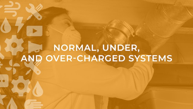 Normal, Under, and Over-Charged Systems