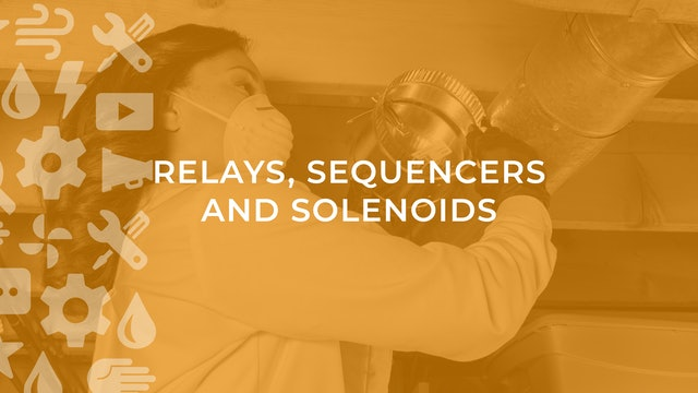 Relays, Sequencers and Solenoids