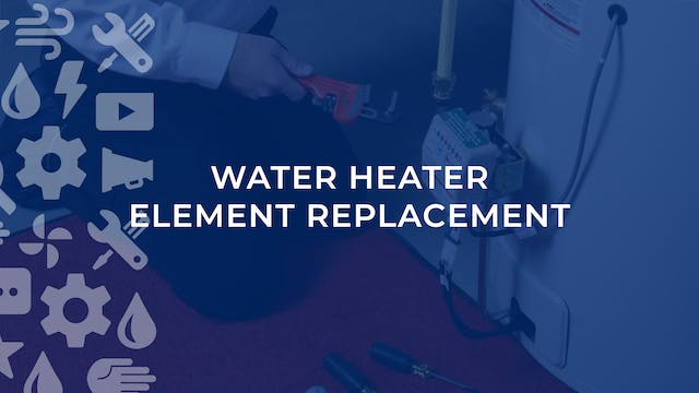 Water Heater Element Replacement