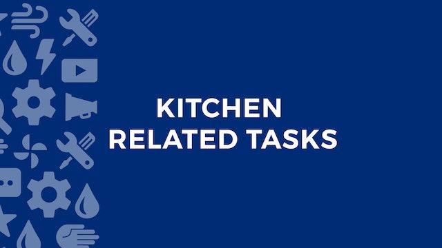 Kitchen Related Tasks