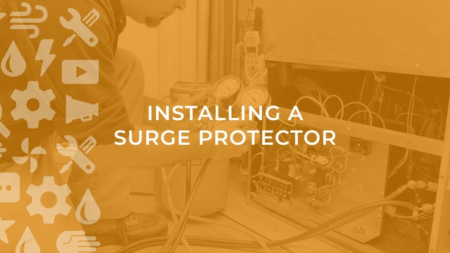 Installing a Surge Protector