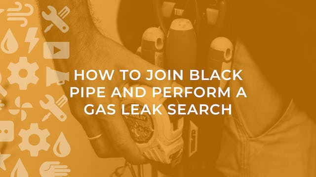How to Join Black Pipe and Perform a ...