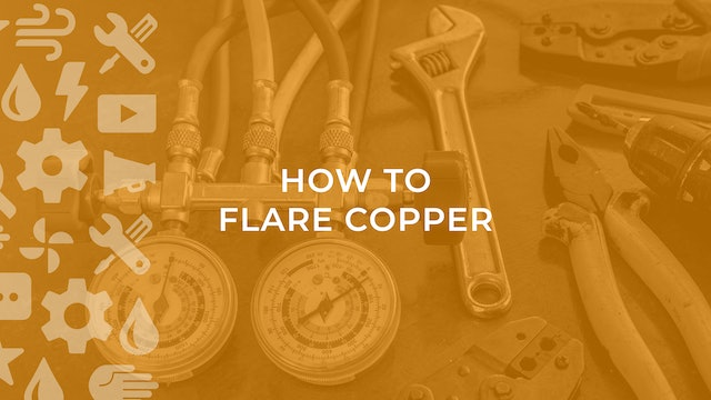 How to Flare Copper