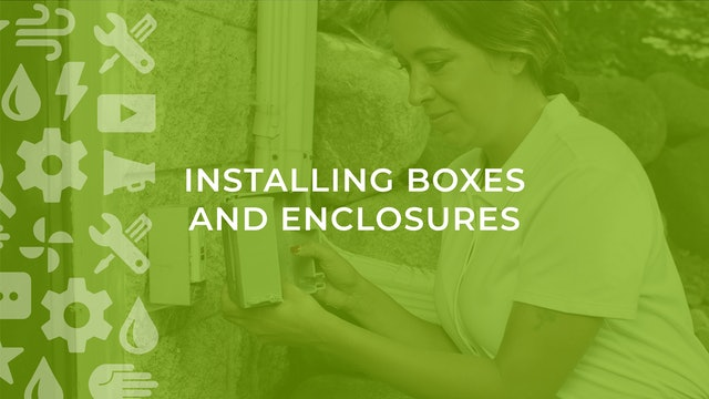 How to Install Boxes and Enclosures in Open Framing