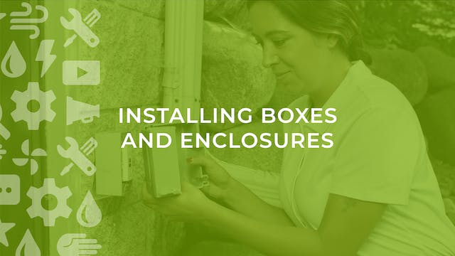How to Install Boxes and Enclosures i...