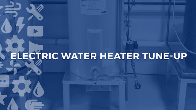 Electric Water Heater Tune Up