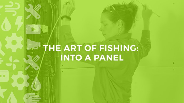 The Art of Fishing Into a Panel