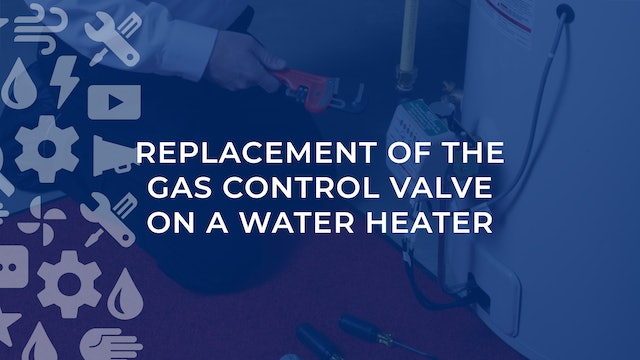 Replacement of the Gas Control Valve on a Water Heater