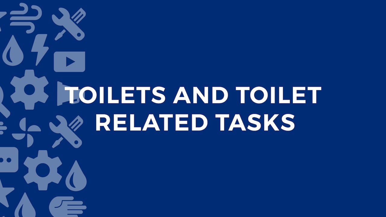 Toilets and Toilet Related Tasks