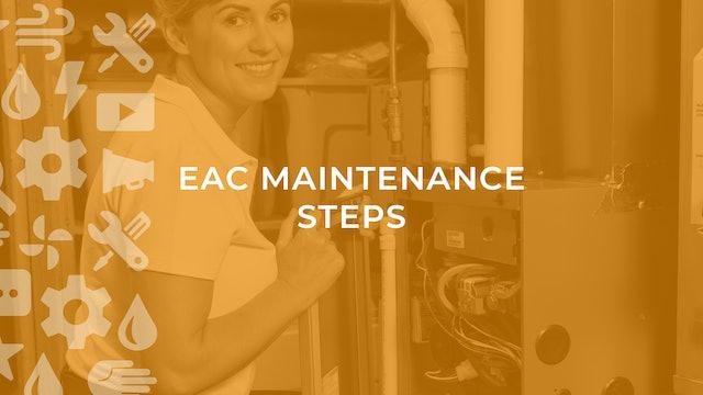 EAC Maintenance Steps