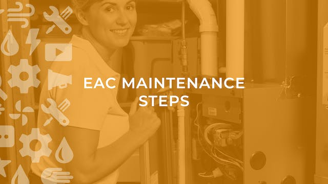 EAC Maintenance Steps