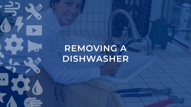 Removing A Dishwasher