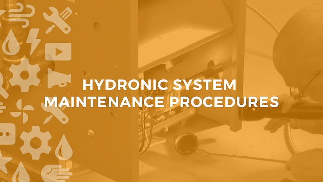 Performing Maintenance on Hydronic Heating Systems