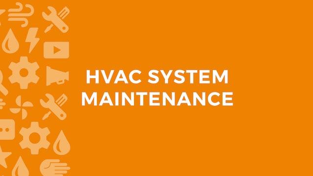 HVAC System Maintenance
