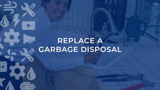 Replace A Garbage Disposal
