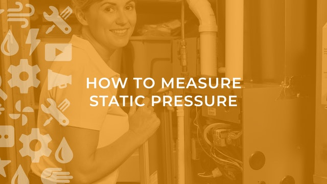 How to Measure Static Pressure