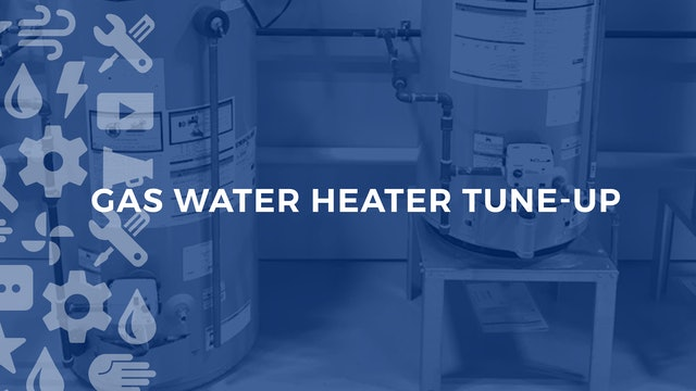 Gas Water Heater Tune Up