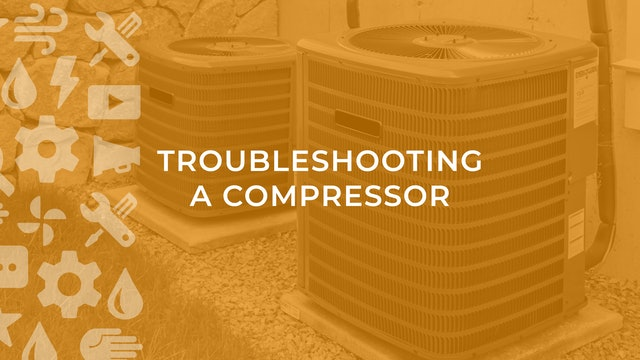 Troubleshooting A Compressor